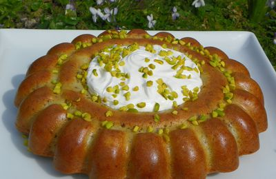 Mon gâteau de Pâques Poires & noix