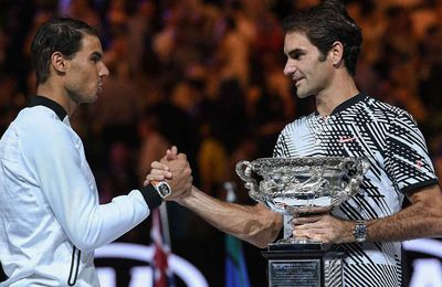 Rafael Nadal dans la peau de Roger Federer