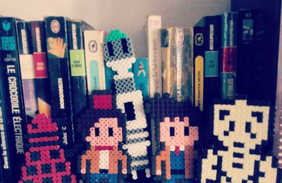 Doctor Who en perle hama