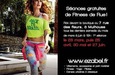 FITNESS DE RUE LE 25 AVRIL 2015