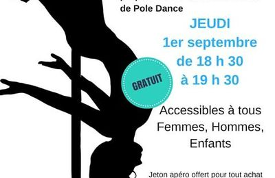 Animation Pole Dance le 1er Septembre