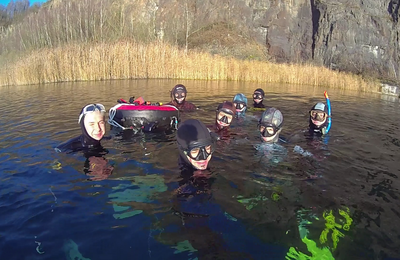 Great last open water session of the year...don't forget your duty for beginning of next year :-)