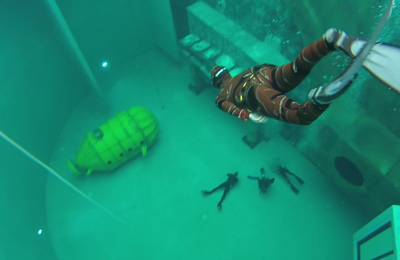 My very first Universal Freediving training involving AIDA and LIFRAS students!