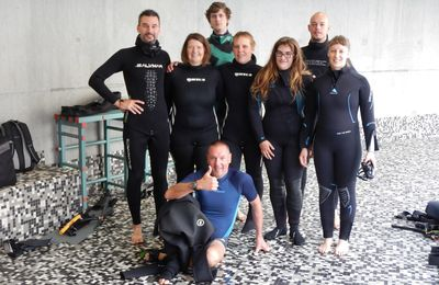 Freediving introductions at duiktank