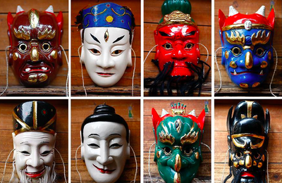 """Mask project"" et culture Nuo 傩"