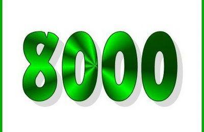 8000emes visiteurs