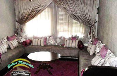 Salon Marocain Gris Prestigieux 2014 - Salon marocain ...