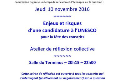 "invitation UNESCO / blog Interclasse en ""7"""