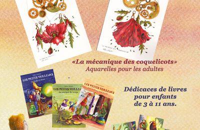 6 AVRIL 25015 : LA MECANIQUE DES COQUELICOTS EST EN MARCHE A LA ROCHE-POSAY