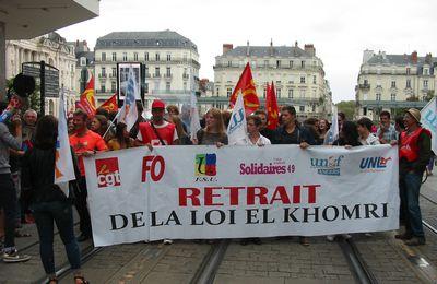 """Nouvelle manifestation contre la loi """"travail"""" le 15 septembre."""