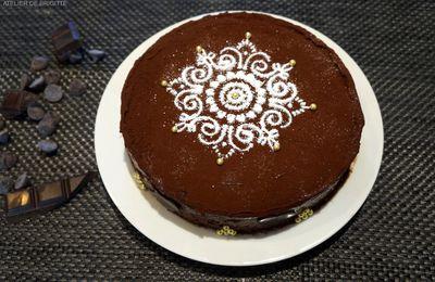 Le gâteau Double Chocolat....No Gluten, recette de Mercotte