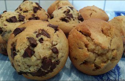 Des Muffins aux pépites de chocolat et de caramel façon Martha Stewart