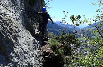 Via ferrata de la Roche à l'Agathe (version 2017) 2/2