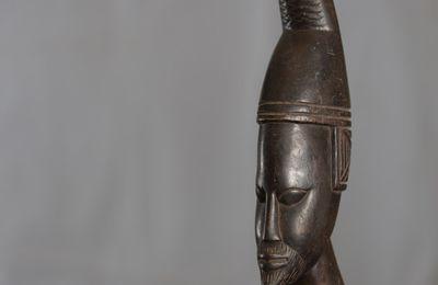 Sculpture Peul - Homme - c