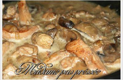 filet de poulet au cidre