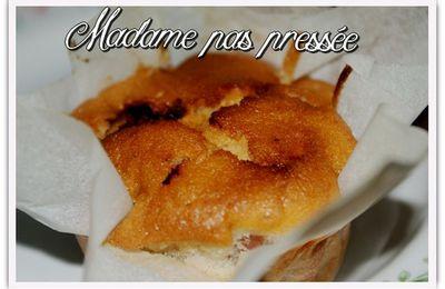 Muffins amande fraise