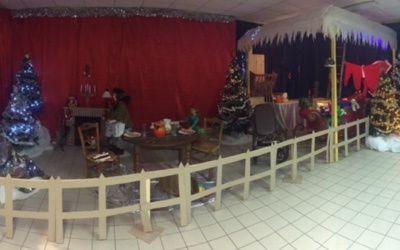 Un air de Noël dans la salle de motricité