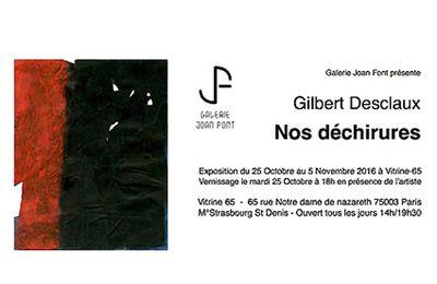 Exposition Gilbert Desclaux