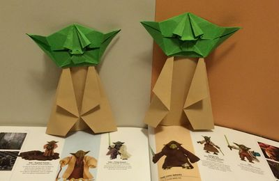 Fold and unfold ou l'origami