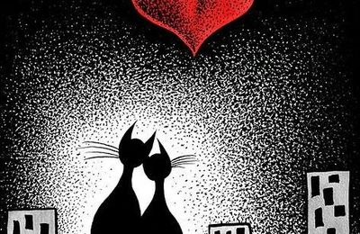 Chats - Couple - Amour - Picture - Free