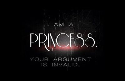 I am a princess. Your argument is invalid - Picture - Free
