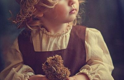 Enfant - Fille - Ourson - Picture - Free