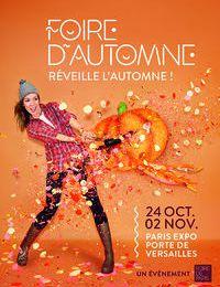 FOIRE D'AUTOMNE PARIS 2014 #Invitation Inside#