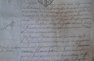 Actes notariés Papillon/Haye