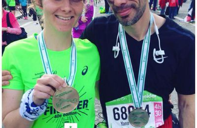 Marathon de Paris 2016: I'm a finisher!