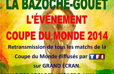 1/8 de final de la coupe du monde en direct à La Bazoche Gouet