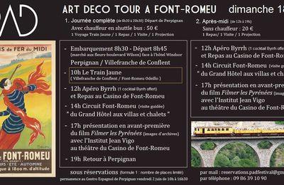 Art Déco Tour Font-Romeu 18 juin 2017
