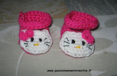 De nouveaux chaussons pour poupées