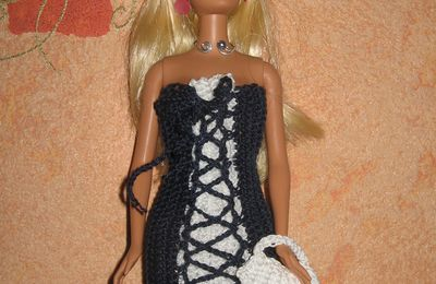 Barbie Bicolore croisé