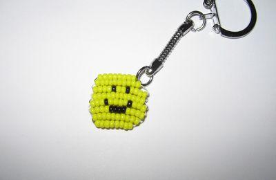 Porte-clés Smiley