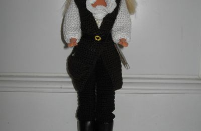 Tutoriel crochet - Barbie Pirate des caraïbes