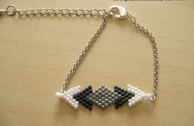 Bracelet dégradé en perles Miyuki