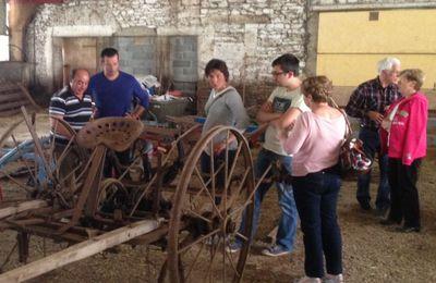 """Salmanac : Inauguration de la Maison du Bois d'Ici et d'Ailleurs, et de l'expo """"Les Vieux Trastous"""""""