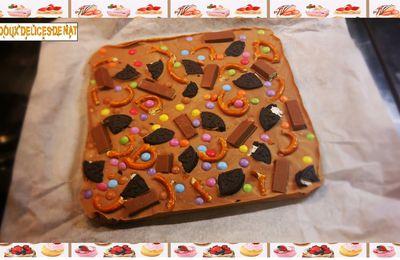Plaque de chocolat halloween :