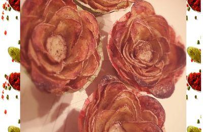 Roses de pommes de terre :