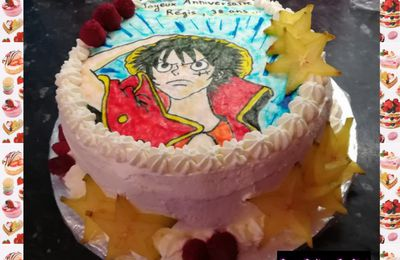 Gâteau One Piece :
