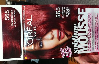 coloration l'oreal sublime mousse