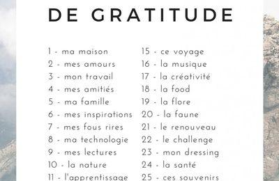 29 jours de gratitude: jour 11