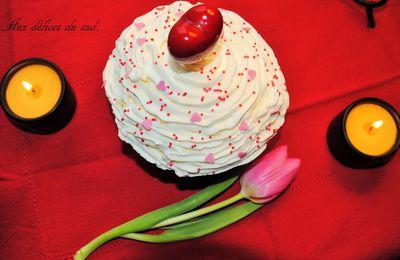 Un bon gros cupcake red velvet amoureux