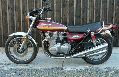 Réparation Kawasaki Z 900 de 1975