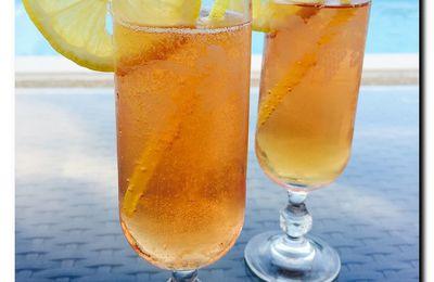 Cocktail au champagne Désir d'un soir