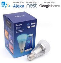 TEST: Ampoule connectée  Sonoff B1 (compatible Alexa-Home-Nest)