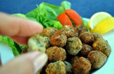 Falafel ou boulettes de pois-chiches