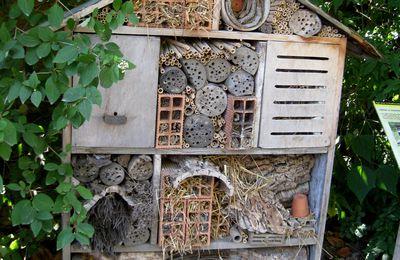 Hôtel à insectes, parc de la Tête d'Or