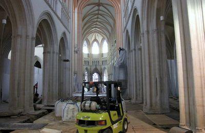 La mise au tombeau, cathédrale de Quimper