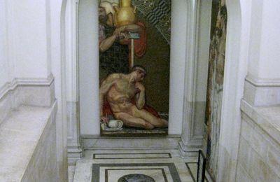 Dans les couloirs du monument à Victor-Emmanuel II, Rome